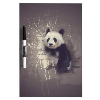 Niedlicher Panda abstrakt Memoboard
