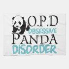 Niedlicher Panda-Bär Küchentuch
