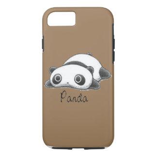 Niedlicher Panda blasses Brown iPhone 8/7 Hülle