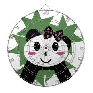 Niedlicher Panda Dartscheibe