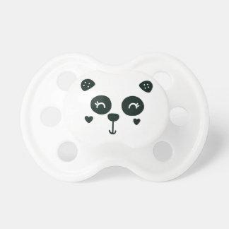 Niedlicher Panda-Gesichts-Baby-Schnuller Schnuller