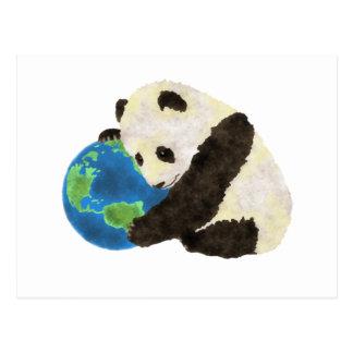 Niedlicher Panda Postkarte