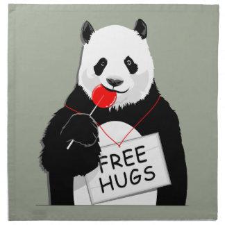 niedlicher Panda Serviette