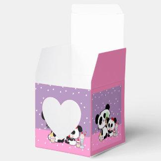 Niedlicher Panda-themed Bevorzugung packt Geschenkschachtel