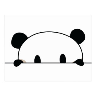 Niedlicher Pandaspion Postkarte