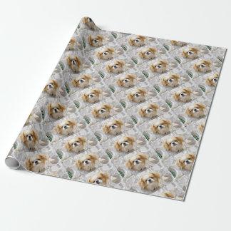 Niedlicher Pekingese Hund Geschenkpapier