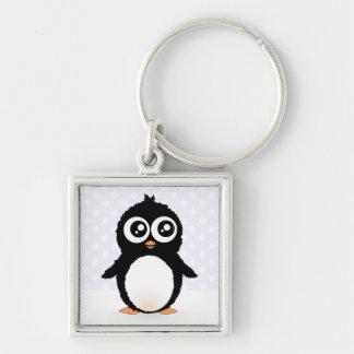 Niedlicher Penguin-Cartoon Schlüsselanhänger