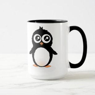 Niedlicher Penguin-Cartoon Tasse