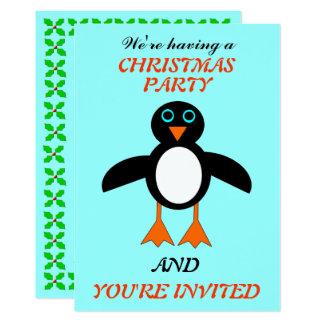 Niedlicher Penguin-lädt kundenspezifisches Karte