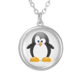 Niedlicher Penguin Versilberte Kette