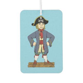 Niedlicher Piraten-junger Mann Lufterfrischer