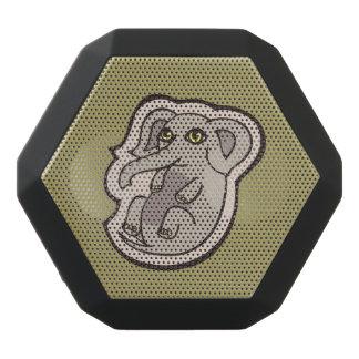Niedlicher Playful grauer Baby-Elefant, der Schwarze Bluetooth Lautsprecher