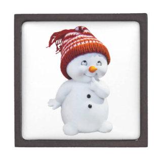 NIEDLICHER PLAYFUL SNOWMAN SCHACHTEL