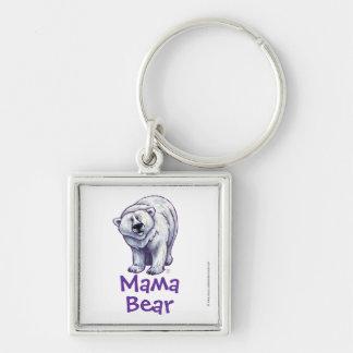 Niedlicher polarer Bär für Mamma Schlüsselanhänger