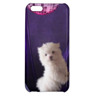 Niedlicher Puppie Hundedisco-Tanz iPhone 5C Schale