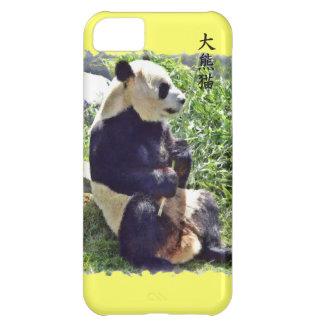 Niedlicher riesiger Panda-Bär mit geschmackvollem iPhone 5C Hülle