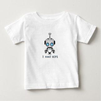 Niedlicher Roboter Baby T-shirt