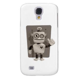 Niedlicher Roboter Galaxy S4 Hülle