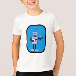 Niedlicher Roboter-Gitarrist von der T-Shirt