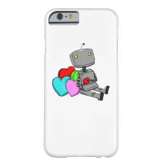 Niedlicher Roboter in Liebe Iphone 6 Abdeckung Barely There iPhone 6 Hülle