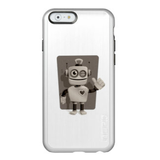 Niedlicher Roboter Incipio Feather® Shine iPhone 6 Hülle
