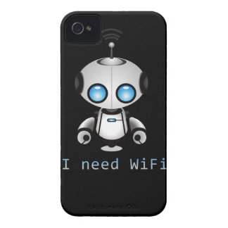 Niedlicher Roboter iPhone 4 Cover