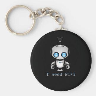 Niedlicher Roboter Schlüsselanhänger