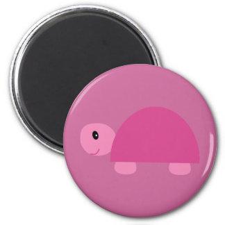 Niedlicher rosa Cartoonschildkrötenmagnet Magnete