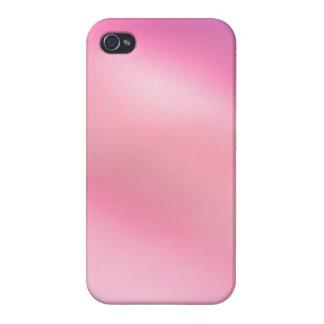 Niedlicher rosa Girly abstrakter Kunst iphone 4 iPhone 4 Schutzhülle