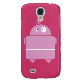 Niedlicher rosa Roboter iPhone 3G Fall Galaxy S4 Hülle
