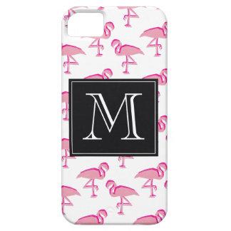Niedlicher rosa tropischer Flamingo Barely There iPhone 5 Hülle