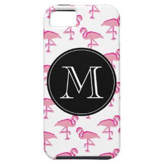 Niedlicher rosa tropischer Flamingo iPhone 5 Hülle
