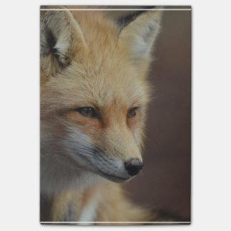 Niedlicher roter Fox Post-it Klebezettel