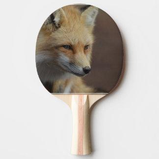 Niedlicher roter Fox Tischtennis Schläger