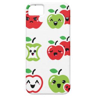 Niedlicher roter und grüner kawaii iPhone 5 schutzhüllen