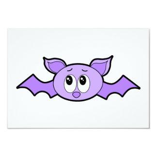 Niedlicher Schläger, purpurrot 8,9 X 12,7 Cm Einladungskarte