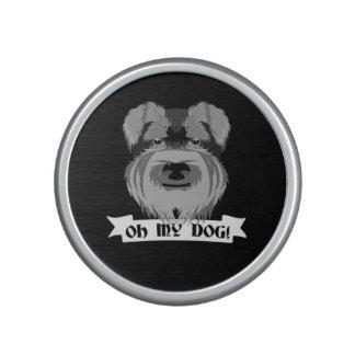 Niedlicher Schnauzer oh mein Hund Bluetooth Lautsprecher