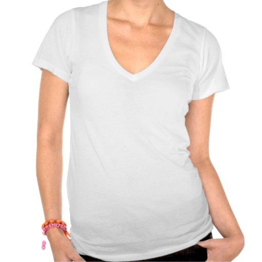 Niedlicher Schwarz-weißer Penguin und lustiger Sch T Shirts