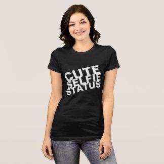Niedlicher Selfie Status T-Shirt