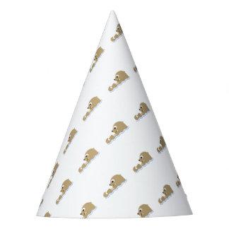Niedlicher sich hin- und herbewegender Otter Partyhütchen