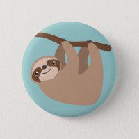 Niedlicher Sloth auf einer Niederlassung