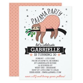 Schön Pyjama Party Einladungen | Zazzle.de, Einladungsentwurf