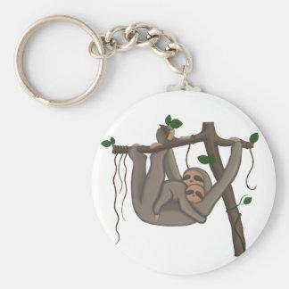Niedlicher Sloth Schlüsselanhänger