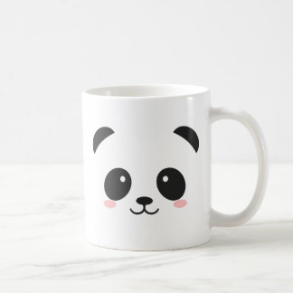 Niedlicher smiley-Panda Kaffeetasse