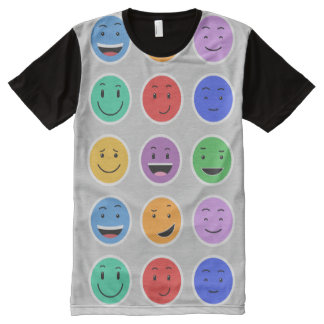 Niedlicher smiley-T - Shirt