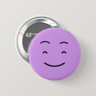 Niedlicher smileyknopf runder button 5,1 cm