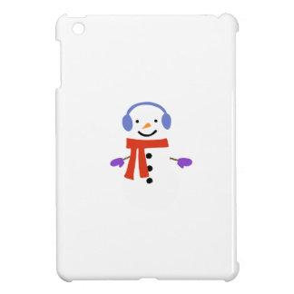 NIEDLICHER SNOWMAN iPad MINI HÜLLE
