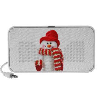 Niedlicher Snowman Tragbare Speaker