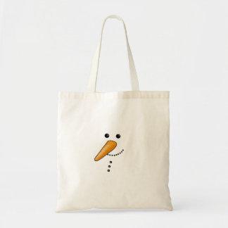 Niedlicher Snowman Tragetasche