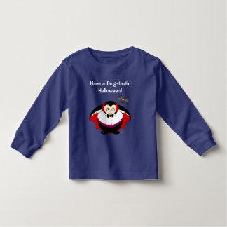 Niedlicher Spaß-Cartoon einer Halloween-Zählung Kleinkind T-shirt